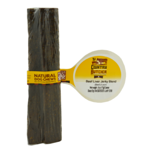 Beef Liver Jerky Blend Treat for Dogs 100 percent USA sourced and raised dog treats and chews
