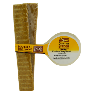 Chicken Jerky Blend for Dogs 100 percent USA sourced and raised dog treats and chews